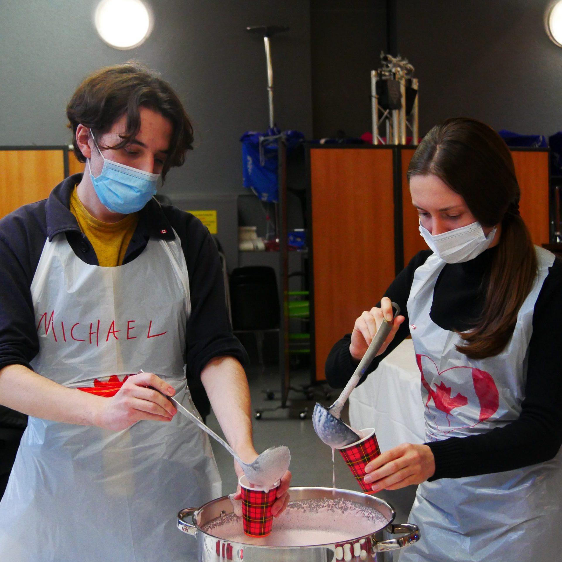 équipe en cuisine